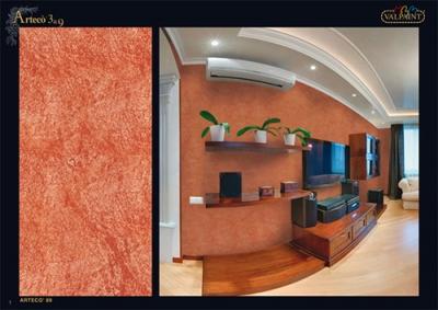 """Arteco 3&9 - декоративная краска """"под старые стены"""""""