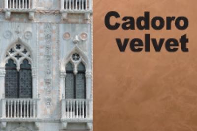 """Cadoro Velvet - декоративная краска """"под вельвет, ткань, замшу, кожу"""""""