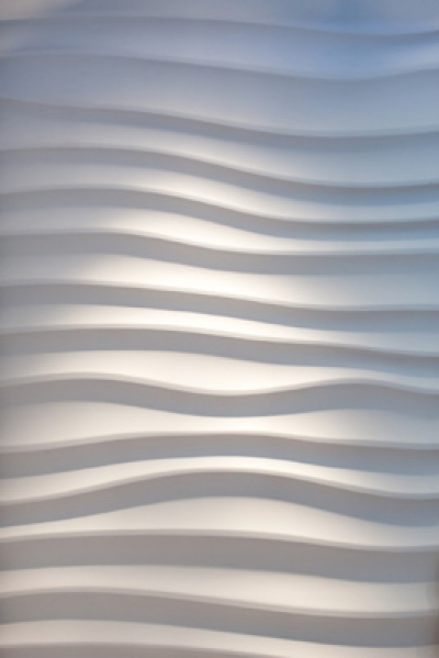 "Flat - декоративные 3d панели ""под рябь на воде"""