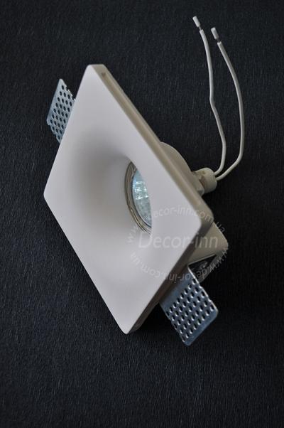 Встраиваемый гипсовый светильник