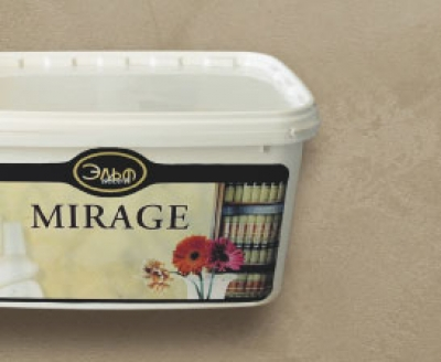"Mirage - декоративная краска ""под шелк, бархат с перламутром"""