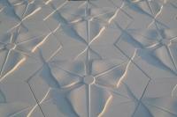 Charm - гипсовые 3Д панели с цветком