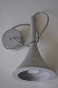 Подвесной бетонный светильник