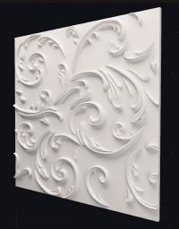 Lily - гипсовые 3Д панели с орнаментом