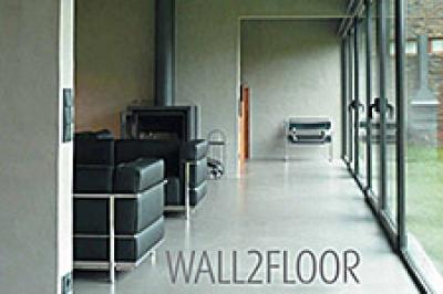 "Wall2Floor - декоративная штукатурка ""под бетон"""