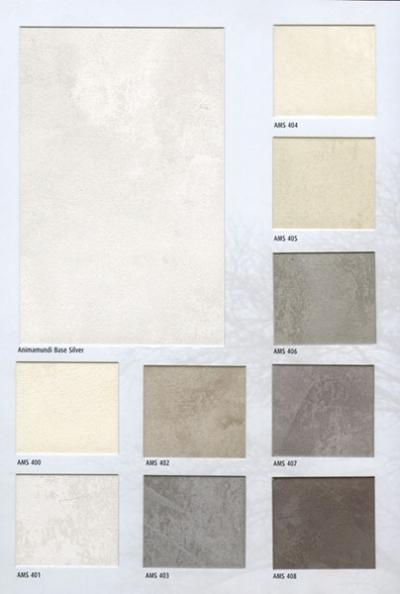 """Animamundi - декоративная краска """"под перламутровый шелк"""", """"под жидкий металл"""""""