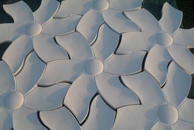 Flowers - гипсовые 3D панели с цветочным рисунком