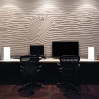 """Wave decor - декоративная 3D панель """"под волну"""" с крупным рисунком"""